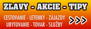 Super Zlavy - Akcie - Ceny - Letenky, ubytovanie, zajazdy, tovar ...